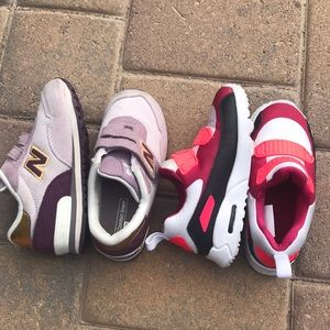 Girls shoes bundle Nike air max & New Balance
